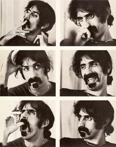 Frank Zappa i realy like myself so much