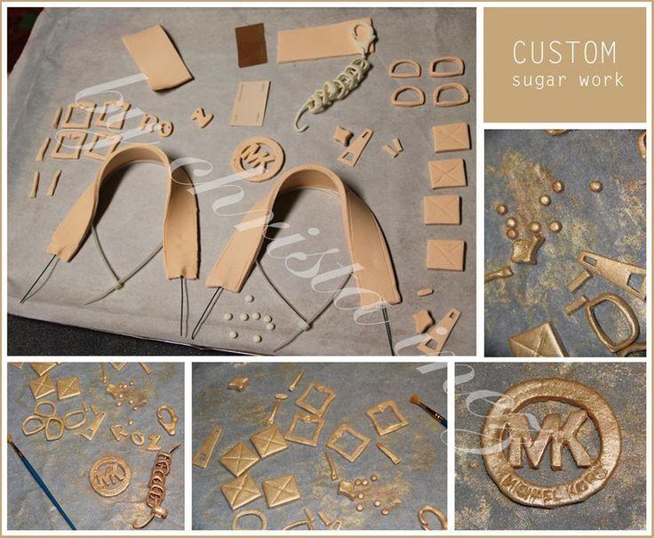 MICHAEL KORS PURSE CAKE IDEAS | Michael Kors handbag cake by ChristaInez | Cake Decorating Ideas Diese und weitere Taschen auf www.designertaschen-shops.de entdecken