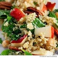 Quinoa salad, Pears and Quinoa on Pinterest