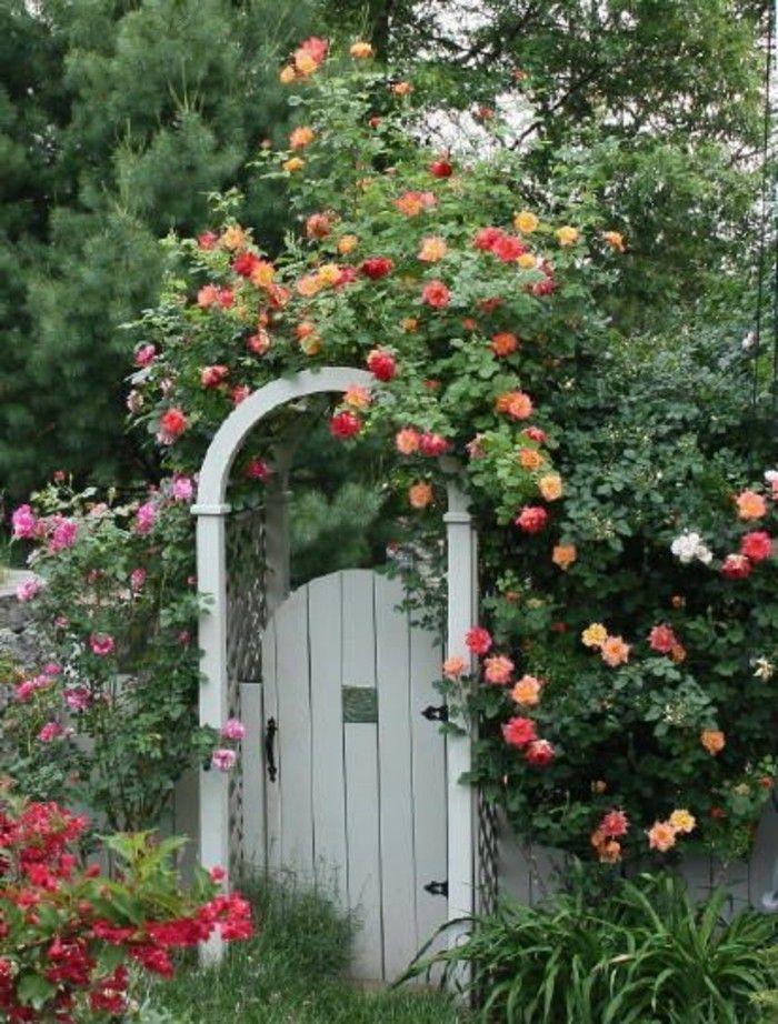 46 Erstaunliche Pergola Gartentor Vorschläge Gartengestaltung