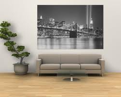 new york skyline wallpaper BEDROOM black and white - Google Search