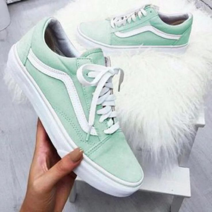 Vans Shoes Mint Partial Suede Old School Vans Color Blue Green Size 6 Colorful Photooftheday Cute P Vans Schuhe Schuhe Neu Gestalten Grunes Outfit