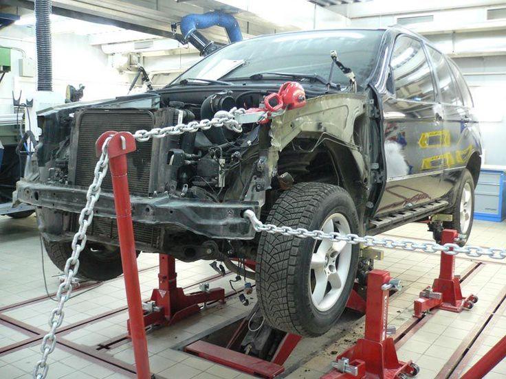 Кузовной ремонт автомобиля в автосервисе