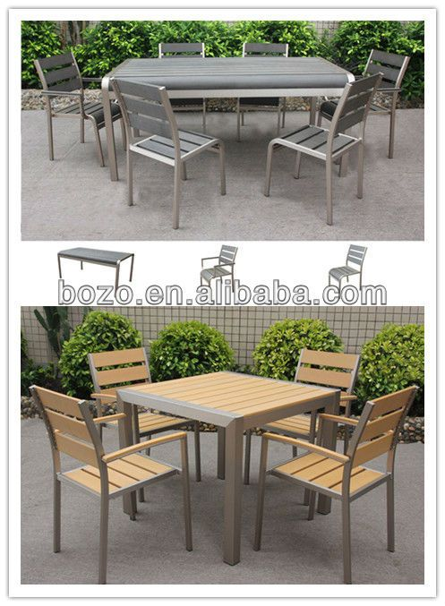 Attractive New Arrival Outdoor Furniture Set Used Tables And Chairs For Restaurant