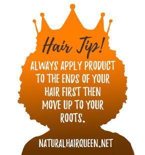 Natürliches Haar, natürliche Haarpflege, Haarspitze, gesundes Haar, natürliches Haarwachstum