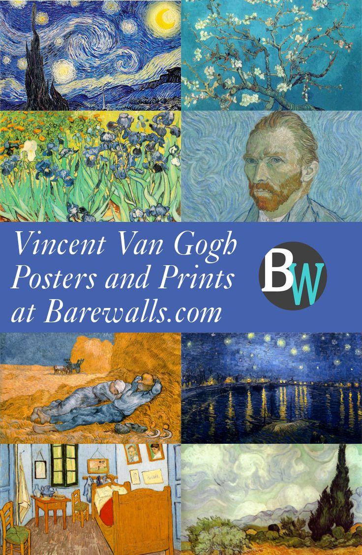 Huge Selection of Vincent Van Gogh Posters and Prints at Barewalls.com
