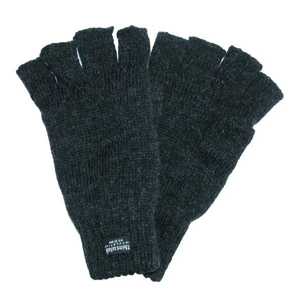 These durable gloves are perfect for keeping your hands warm while insuring you have a secure grip. Featuring fingerless styling to provide you with an easy, safe grip for any task, durable wool is strong and comfortable for all day wear, the thinsulate lining provides extra warmth for colder days, and the stretch cuff provides the perfect fit. Whether working on a project outdoors in the cold or just trying to keep warm this winter, these gloves are the perfect item.
