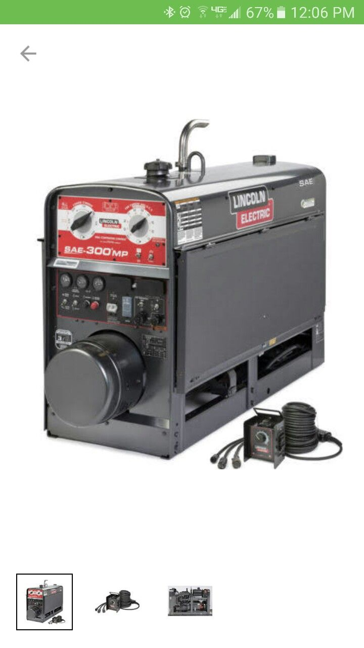 Old Lincoln Pipeliner Welders 200 For Sale