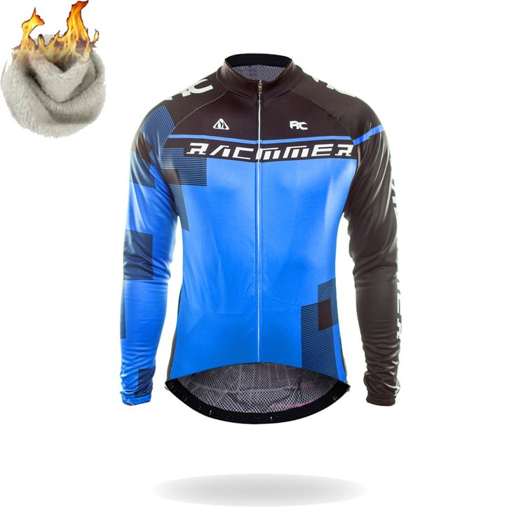 Racmmer  Winter 2017 Long Pro Thermal Fleece Cycling Jersey Men Clothing Bicycle Maillot Equipacion Ciclismo Bike Clothes #ZR-19 #Affiliate