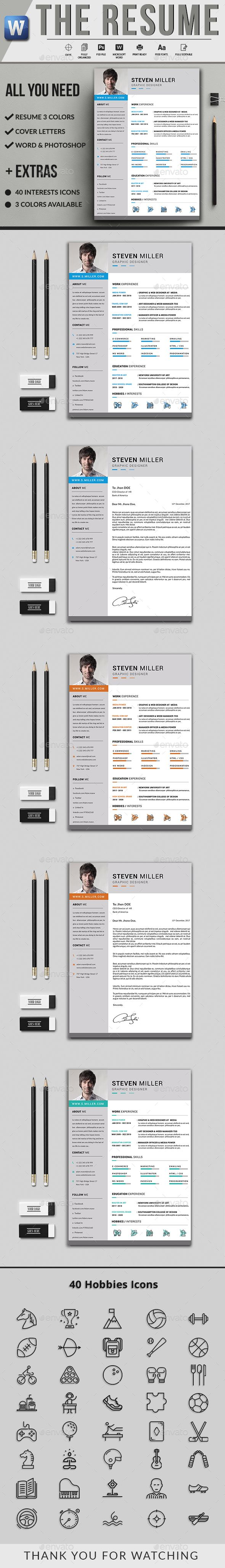 CV by Unionmedia Resume ?Resume? is the super clean, modern and professional resume cv template to help you land that great job. The flexible page