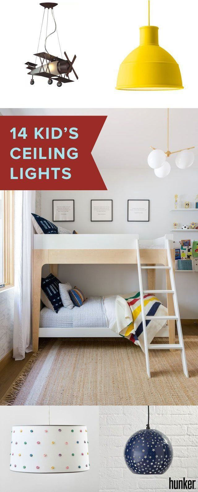 Ceiling Lights And Fixtures For The Kids Room