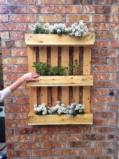 Para pouco espaço, uma ótima ideia para ter um jardinzinho! zona lateral das escadas de incendio