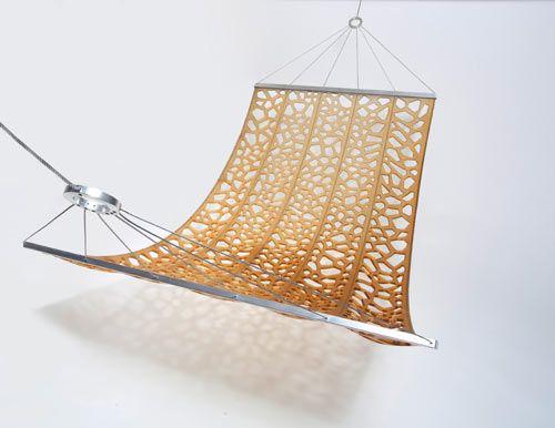 Hammock by D-Vision.Dvision, Design Milk, Dreamy, Design Chairs, Contemporary Furniture, Design Hammocks, Soft Comforters, Furniture Design, Plastic Dreams