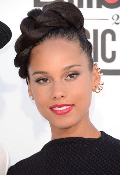 Elegant Braided Updos For Black Women