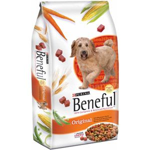 Beneful Original Dog Food, 31.1 lb  ***I will have to check this brand, it has both moist & chewy bites.  not expensive different kinds: Original -beef, Fiesta:- chicken, Playful - beef & egg, Healthy Smile - crunchy kibble chews for teeth & freshens breath.