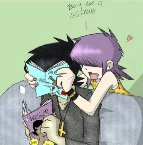 from Lionel is noodle dating murdoc