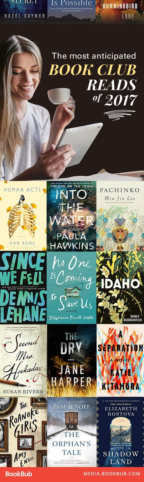 An awesome list of books to read next. Must add to your 2017 reading list!
