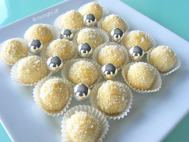 Τρούφες Καρύδας - Raffaello