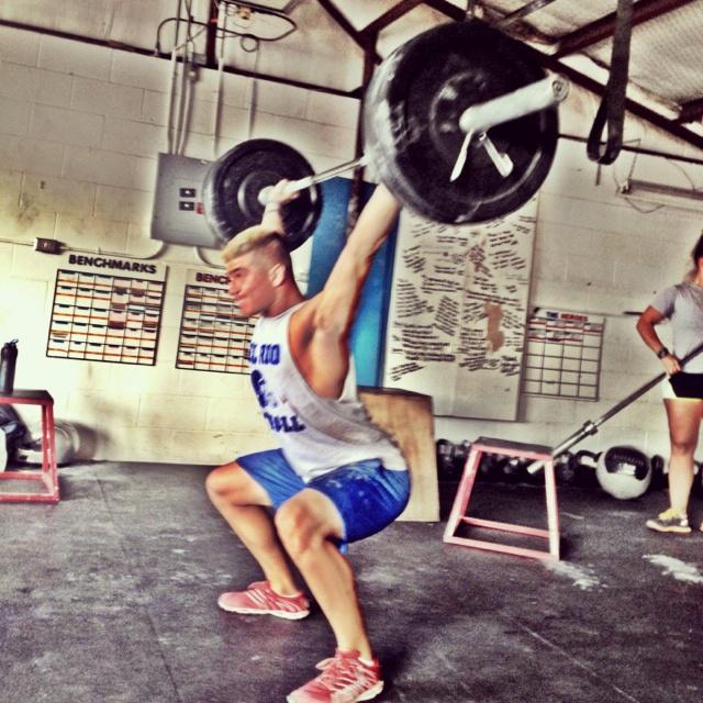 Tyler Bradshaw From Off Base Crossfit In Del Rio Tx Crossfit Rio Tyler