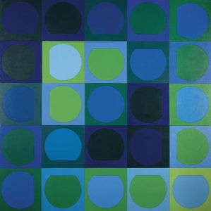 Zaphir 1 - (Victor Vasarely)