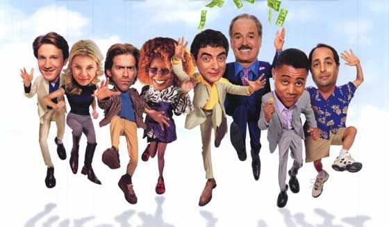 Rat Race - John Cleese, Amy Smart, Rowan Atkinson, Cuba Gooding, Jr., Whoopi Goldberg, Seth Green, Jon Lovitz, Kathy Najimy and Wayne Knight