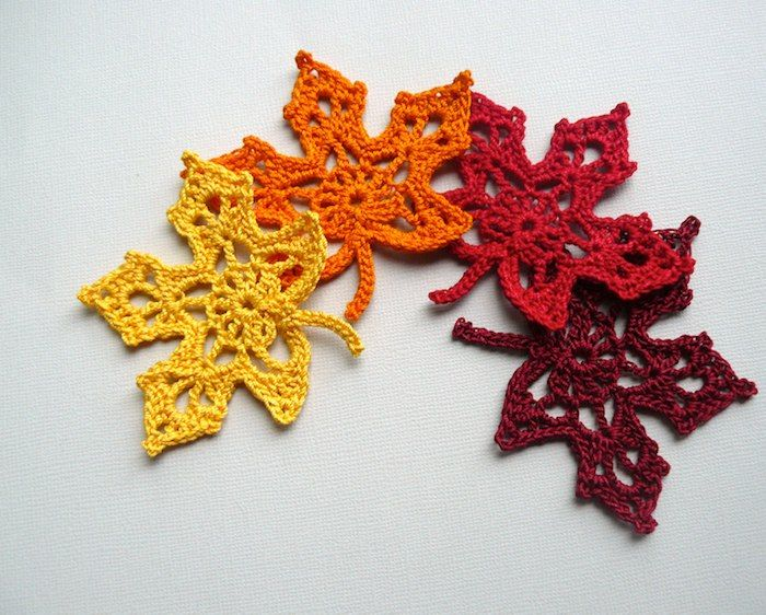 Crochet Leaf : ... Crochet Leaf, Crochet Leave, Maple Leaves, Maple Leaf, Crochet Pattern