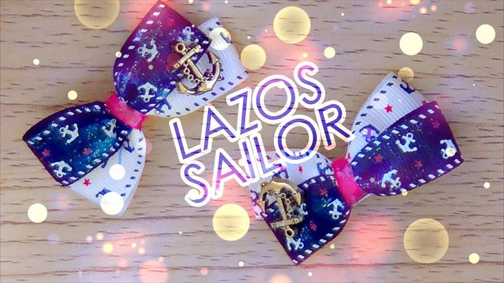 D I Y ♡ 17 ♡ Moñitos estilo Sailor