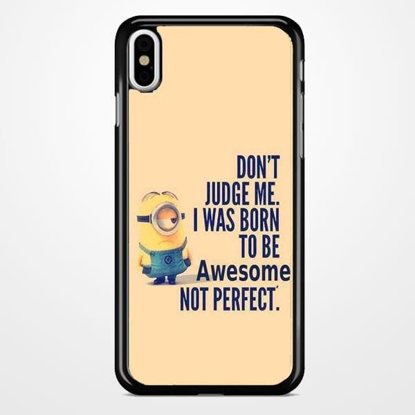 Best Minion Whaaat Idea iPhone X Case