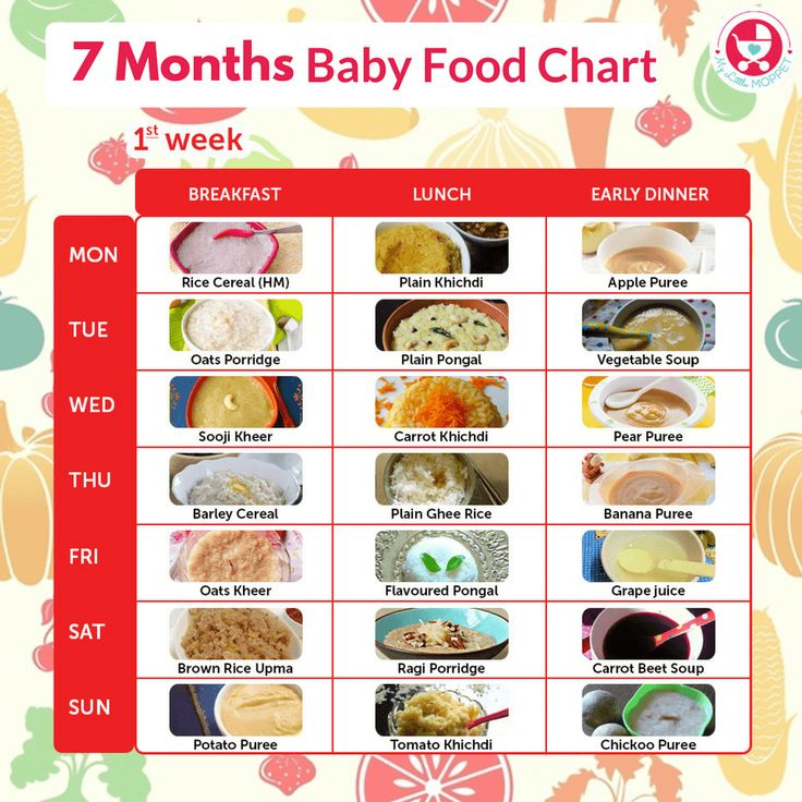 By 7 months, babies are ready to try new textures & flavors. Introduce these foo… – Baby food guide
