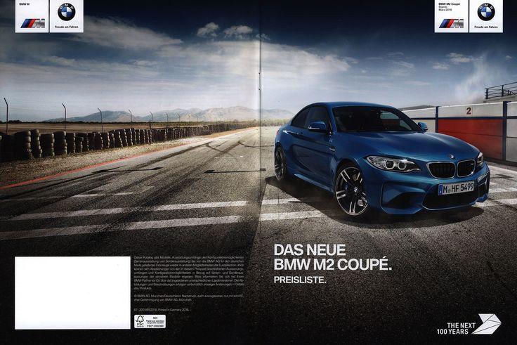 https://flic.kr/p/QV55iK | BMW M2 Coupé. Das neue - Preisliste. (Daten Facts)  2016