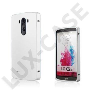 Brandes (Sølv) LG G3 Aluminum Bumper