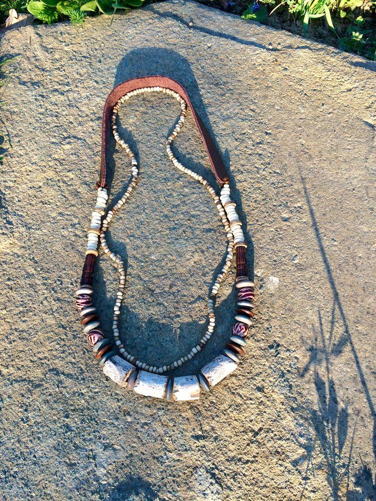Drift Wood Necklace! Natureinspired#Rusticjewelry #handmadeisbetter #jewelrygram #jewelry #bijuterii #earthy #tiggtag #tiggtagjewelry #celebratenature #nomad #travel #style #accesories #unique #bijuterii #coachella #followback #bohemian #accesorii #necklace #driftwood