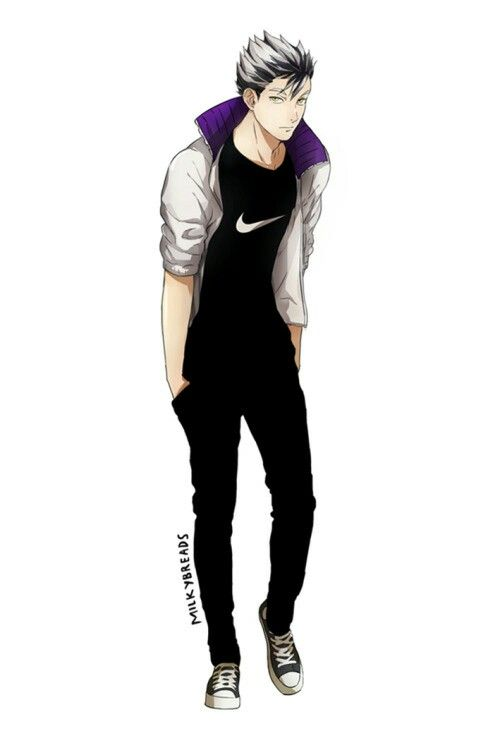 Bokuto In Casual Clothes Milkybreads.tumblr.com