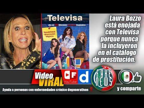 Laura Bozzo está enojada con Televisa porque nunca la incluyeron en el c...