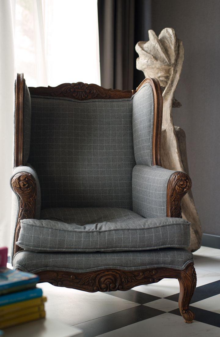 ce fauteuil juste pour lire au coin du feu envies. Black Bedroom Furniture Sets. Home Design Ideas