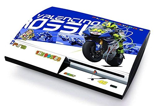 VALENTINO ROSSI 46 THE DOCTOR Skin Cover PS3 FAT HD limited edition DECAL COVER ADESIVA STICKER Playstation 3