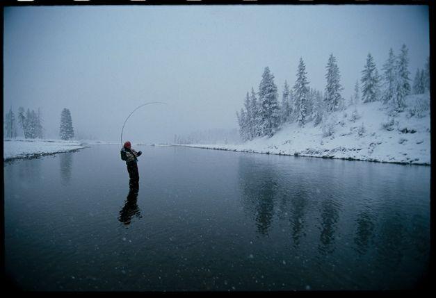 Best Winter Fly Fishing Idaho | ... Winter's Dream - Sun Valley Magazine - Winter 2004 - Sun Valley, Idaho