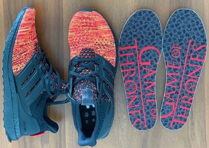 Adidas ultra boost Game of thrones  Fire and Blood | Stuff