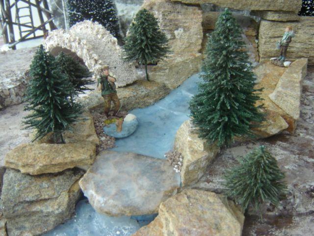 Album - fabriquer des sapins - Les villages miniatures de Noël de Lalie