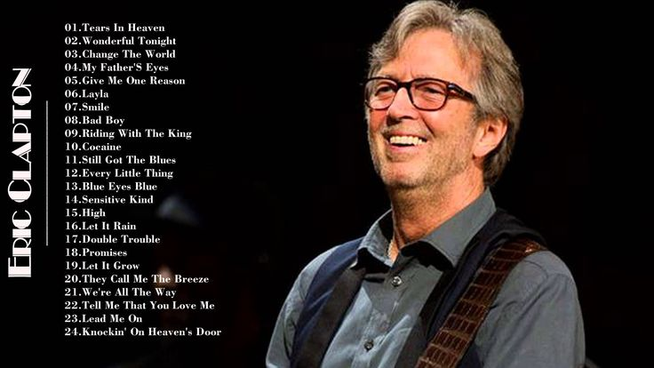 Eric Clapton Greatest Hits | Best Of  Eric Clapton