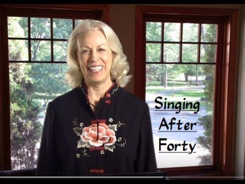 Singing after facial