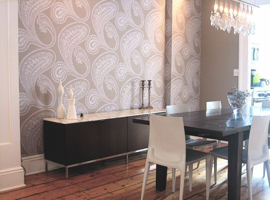 Wallpaper Idea For Dinning Room