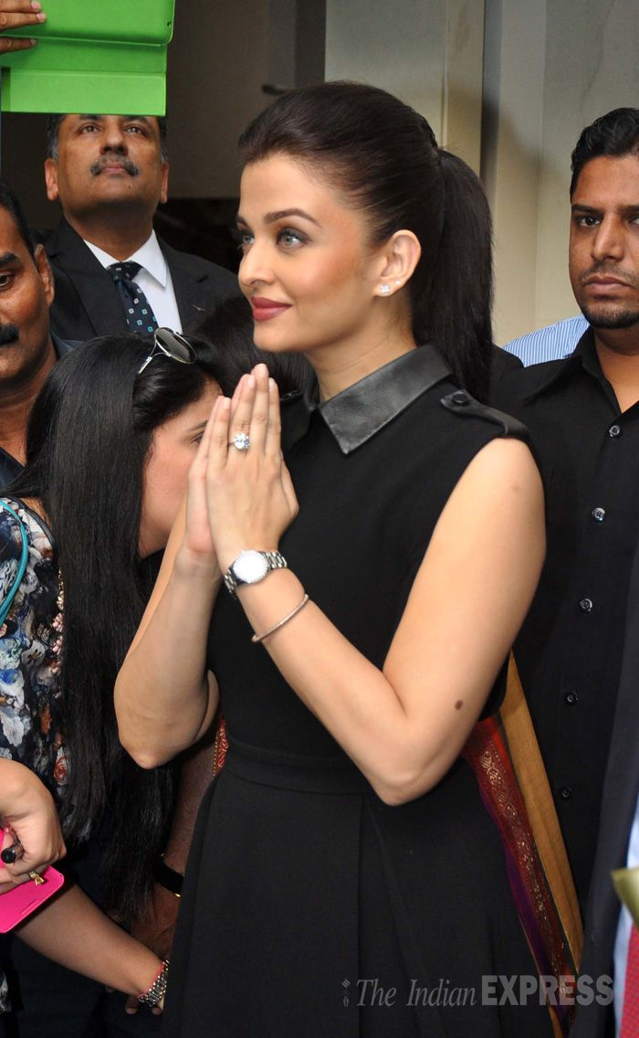 Aishwarya Rai Bachchan at a Longines event. #Bollywood #Fashion #Style #Beauty