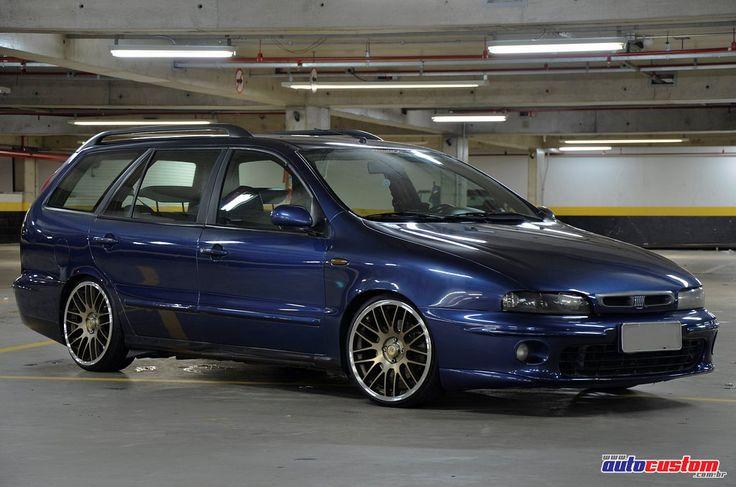 Proprietário: Caio Felipe da cidade de São Paulo, capital. Veículo: Fiat Marea Weekend ELX ano 2000. Customizações: Xenon de 8000K nos faróis e faróis de m