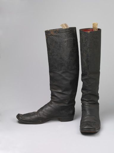 fdf70e06d8b Pair of boots, 1750/1799. V&A | 18th Century Footwear | 18th century ...