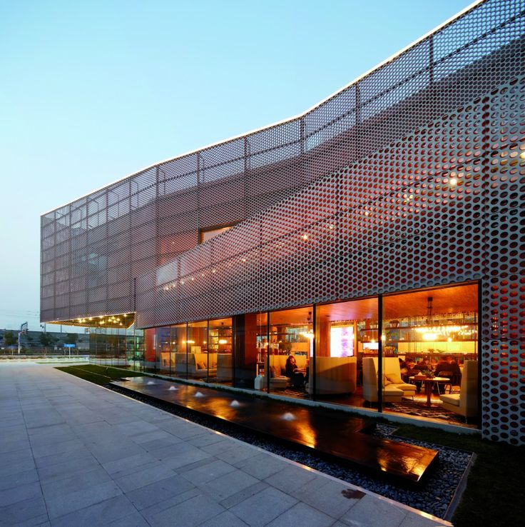 Vanke New City Center Sales Gallery / Spark Architects