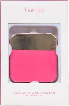 Pink & Gold Mobile Charger