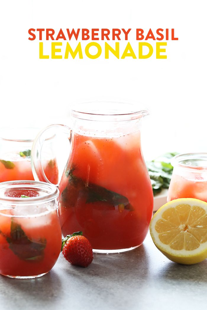 25+ best ideas about Strawberry Basil Lemonade on ...