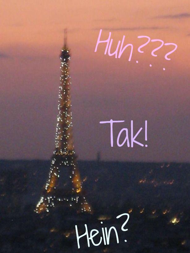 Strange noises French people make (to communicate)