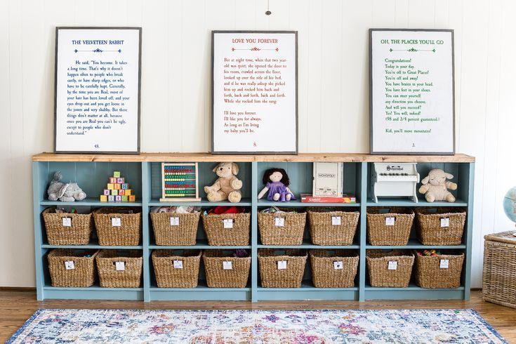 Spielzeug Organisieren